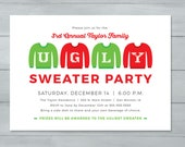 Ugly Sweater Party Invita...