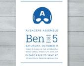 Captain America Birthday ...