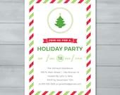 Holiday Party Invitation ...