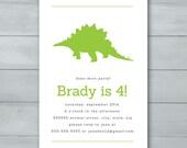 Dinosaur Birthday Party I...