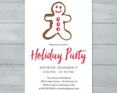 Gingerbread Man Holiday P...