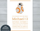 BB-8 Star Wars Birthday P...