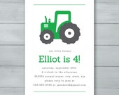 Tractor Birthday Party in...