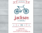 Bicycle Birthday Party In...