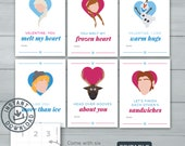 Kids Valentine cards | Fr...