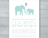 Elephant Boy Baby Shower ...