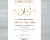 Anniversary Party Invitat...