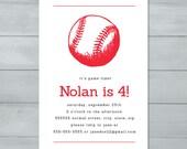 Baseball Birthday Party I...