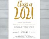 Graduation Party Invitati...