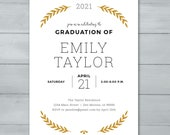 Graduation Invite  |  Gra...