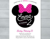Minnie Mouse Birthday Inv...