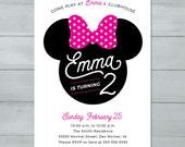 Minnie Mouse Birthday Inv...
