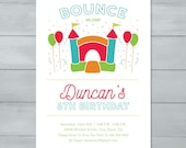 Bounce House Birthday Par...