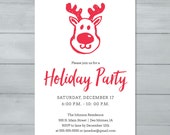 Rudolph Holiday Party Inv...