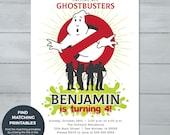 Ghostbusters Birthday Par...