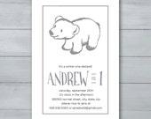 Polar Bear Birthday Party...