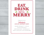 Holiday Party Invitation ...