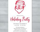 Santa Claus Holiday Party...