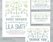Boy Baby Shower Invitatio...
