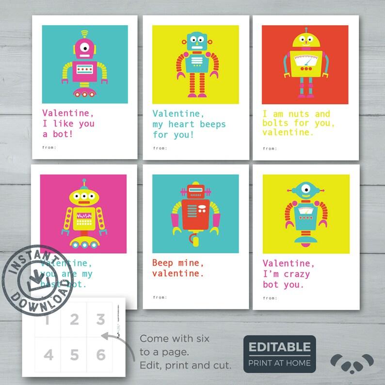 kids valentine cards robot valentines robot computer kid