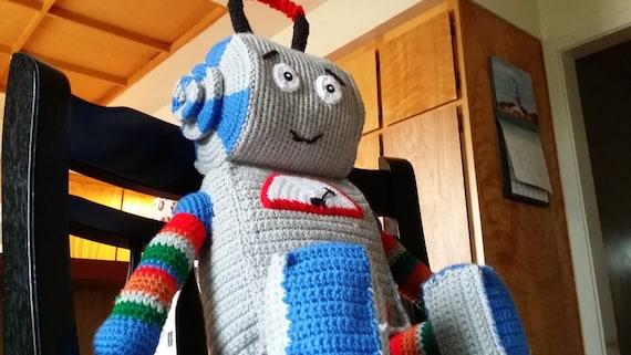 Bunny the Robot - handmade crocheted amigurumi plush (MADE TO ... | 321x570
