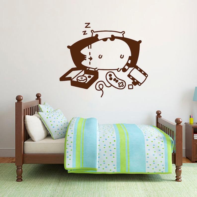 Cat Wall Decals Baby Girl Nursery Childrens Room Kitten Kitty Stickers Art Decor