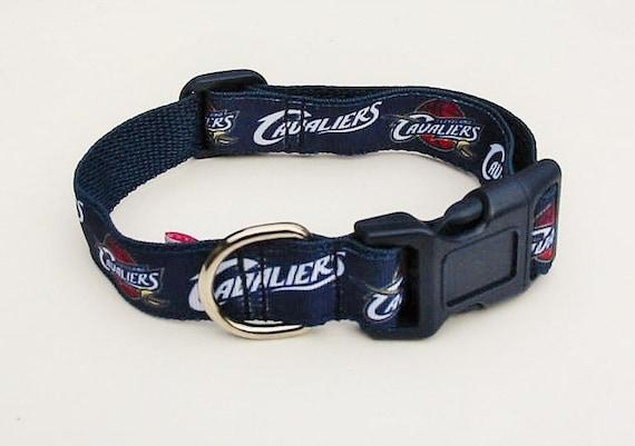 Small Dog Cleveland Cavs Collar Cavs Basketball Collar PINK Cavs Collar Female Dog Collar CAVALIERS DOG Collar Large Dog