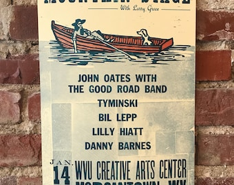 2018 Mountain Stage Letterpress Posters