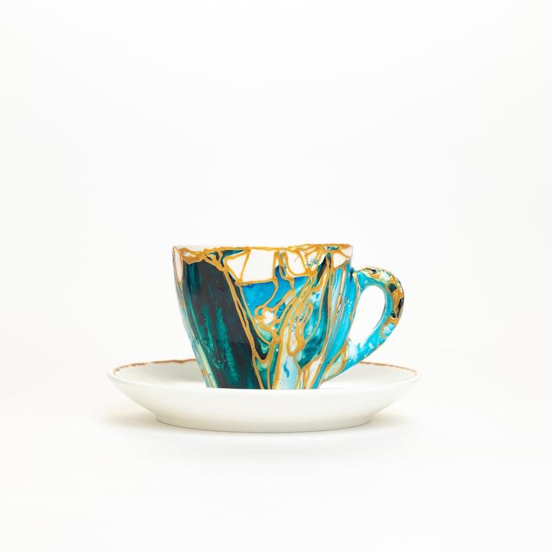 EXPRESSO 79927993 mug coffee tea soup mug   handmade ooak image 0