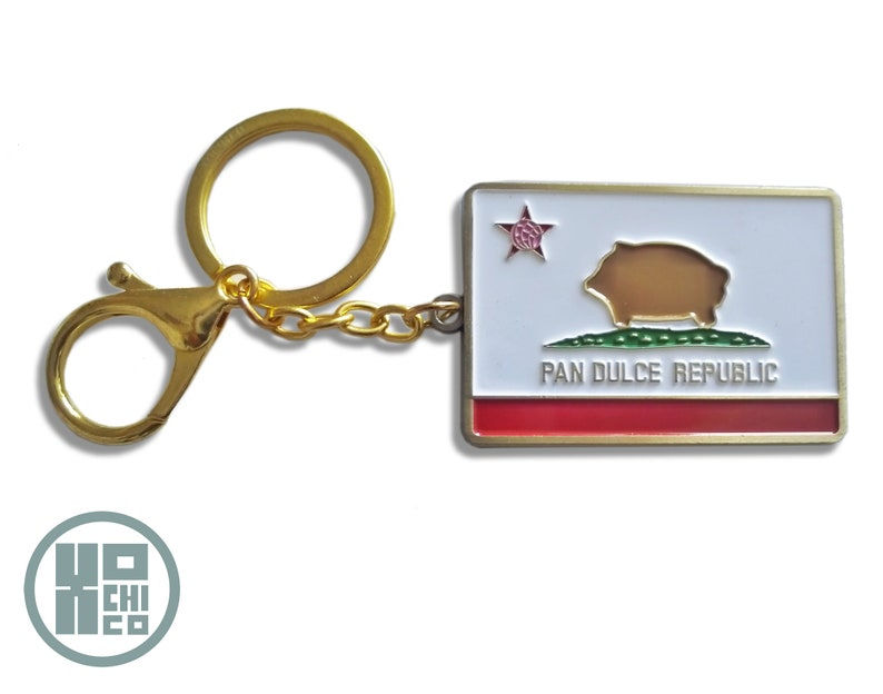 Pan Dulce Republic Enamel Key Chain