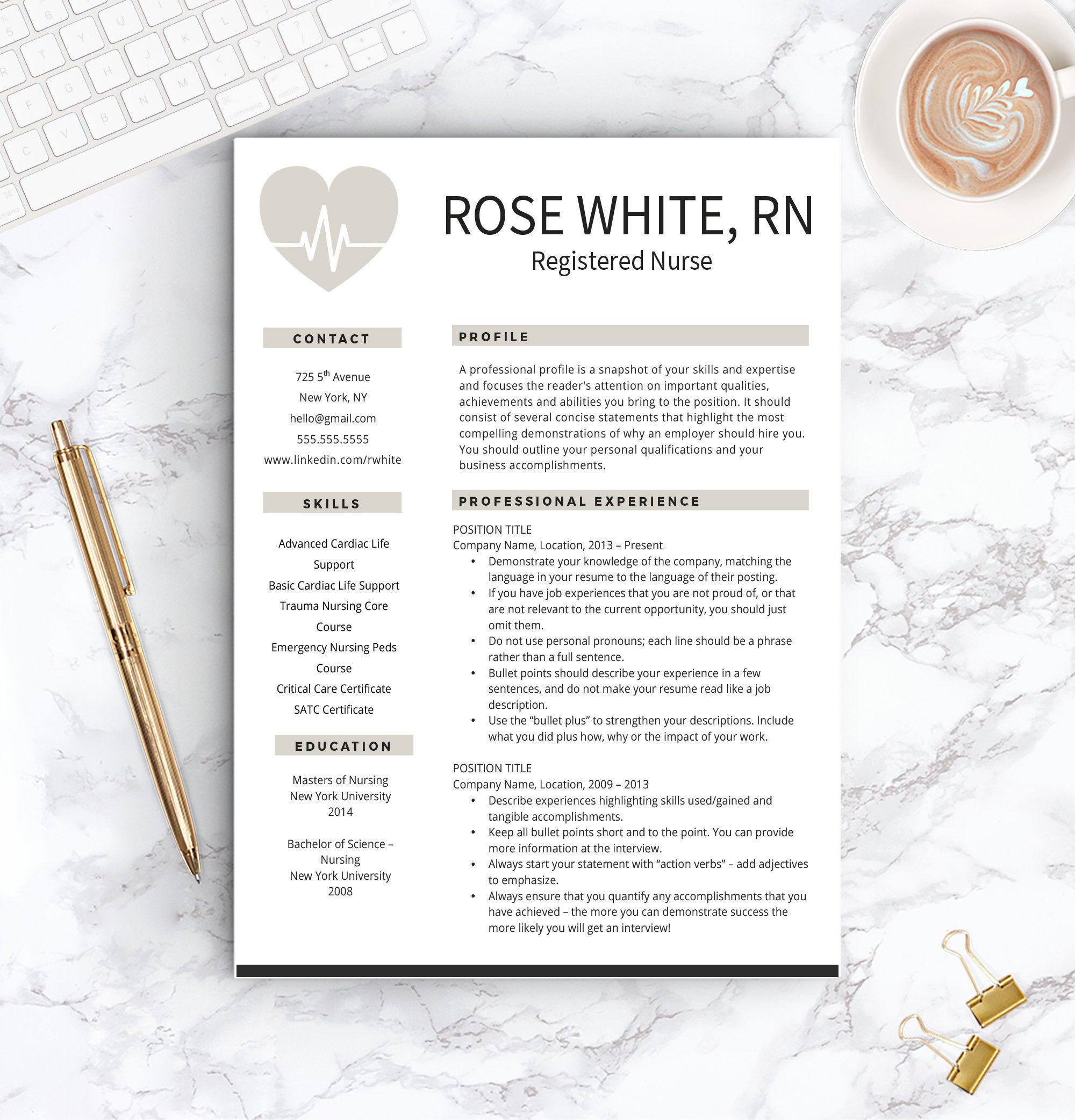 nurse resume template free cover letter nurse resume