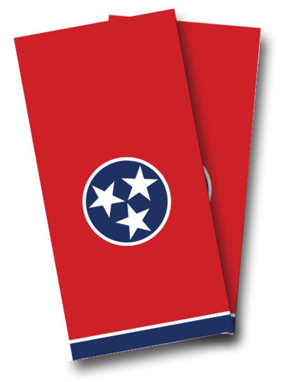 Cornhole Boards Wraps Set Tennessee