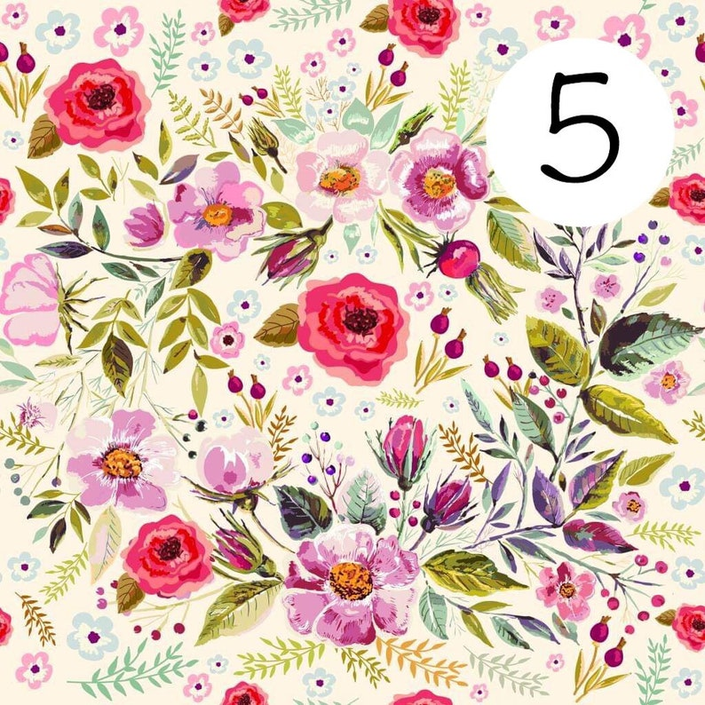 3dRose David Zydd Floral Mandalas T-Shirts Bohemian Kaleidoscope Design Pink Kaleidoscope Garden Mandala