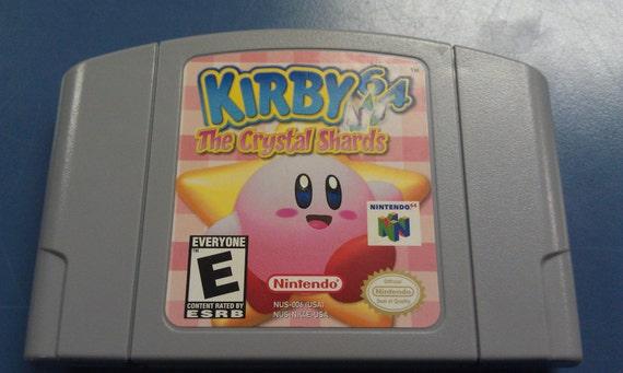 Kirby 64 Los Cascos Juego Nintendo 64 N64 Juego Prueba Y Etsy