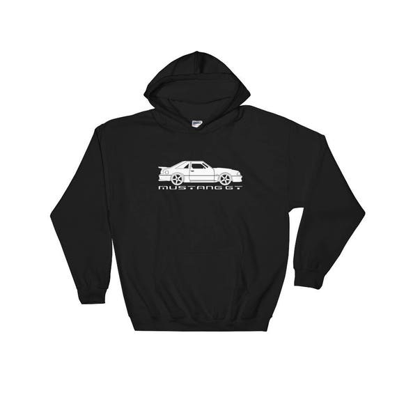 Mustang GT   Foxbody   Hooded Sweatshirt