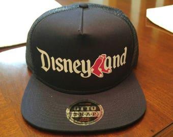 Disneyland   Boston Red Sox Mashup Hat (snapback) fd2676aec93