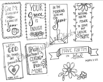 bible journaling coloring pages Bible Journaling: Psalm 18 Printable Coloring Page | Etsy bible journaling coloring pages