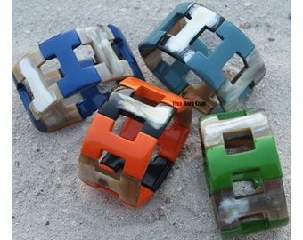 Horn bracelet - Buffalo horn bracelet - Horn bangle bracelet
