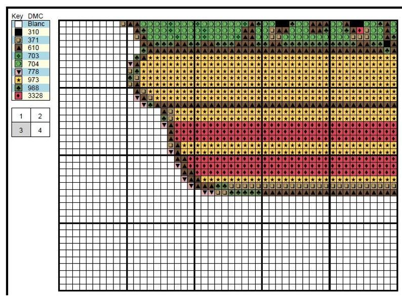 Mini Cactus cross stitch pattern Flower cross stitch sampler Modern cross stitch chart Easy cross stitch PDF Coupon Code instant download