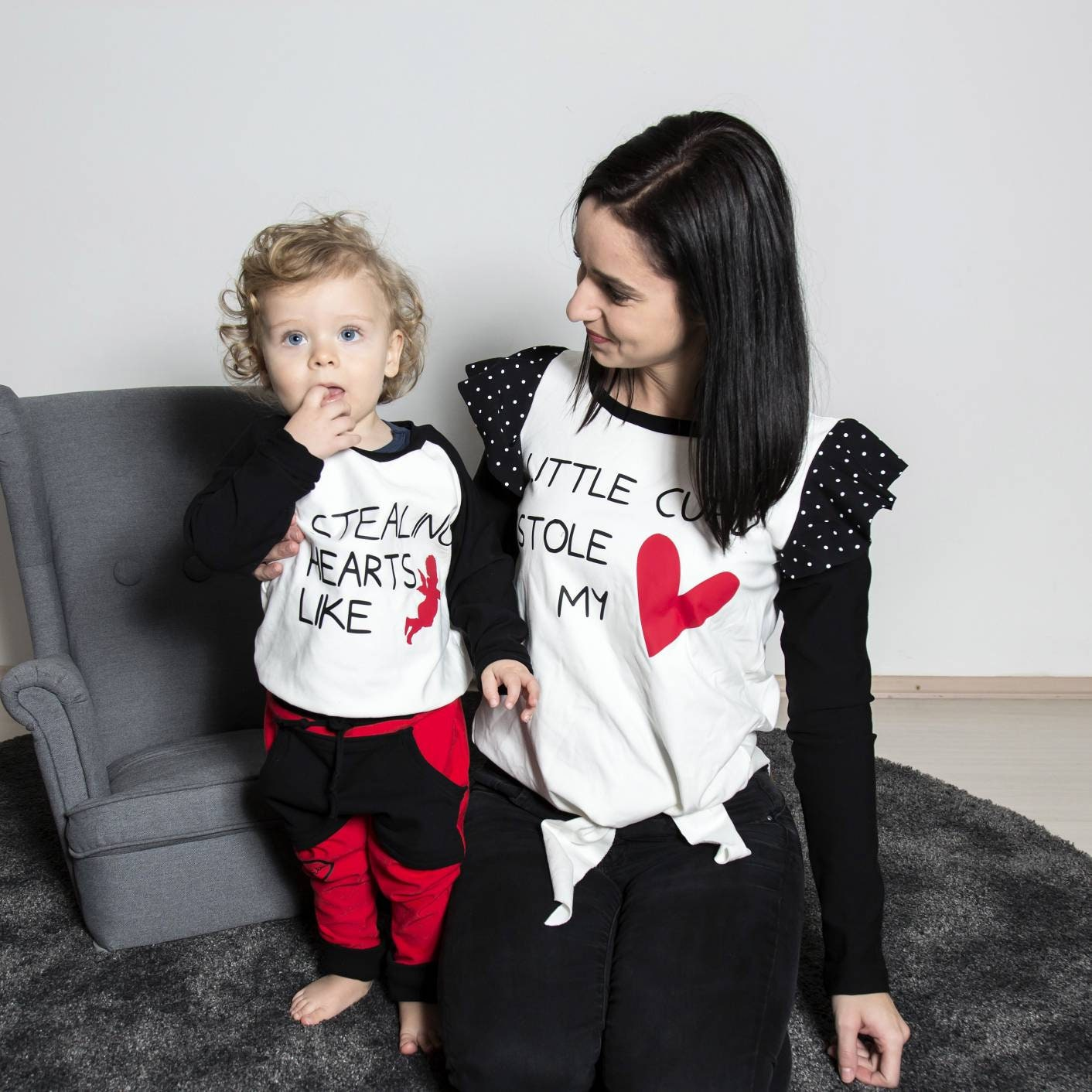 76948a6d8 Matching clothes, matchy baby mommy clothes set, Kids fashion, kid ...