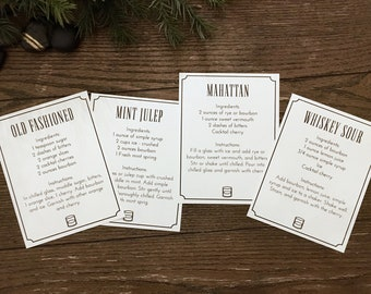 Cocktail Recipe Cards Template from i.etsystatic.com