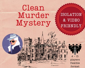 Classic Castle Murder Mystery   Printable game    Workplace Family School   No violence, sex or alcohol Kids Game IN PERSON and ZOOM Game