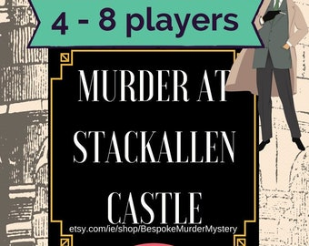 picture relating to Printable Mystery Games identify Murder Secret Castle Match 8 16 avid gamers// Printable murder
