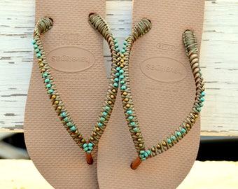 20472622a78cb4 Bohemian flip flops