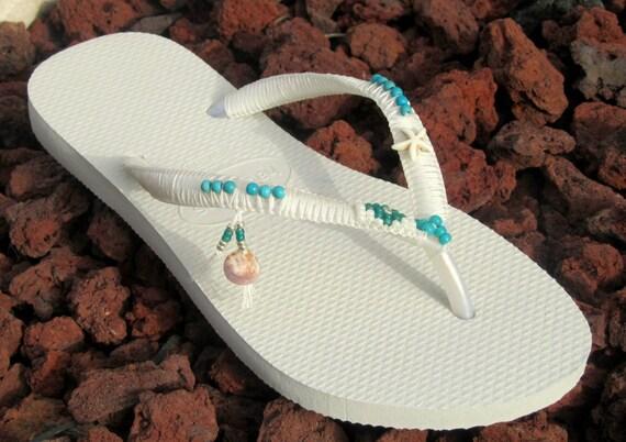 Comfortable Flops Boho Dress Wedding Beaded White Boho Women's Thong Sandals Silver Shoe Flip Wedding amp; Sandals Havaianas Turquoise Flats z0ATaW1q