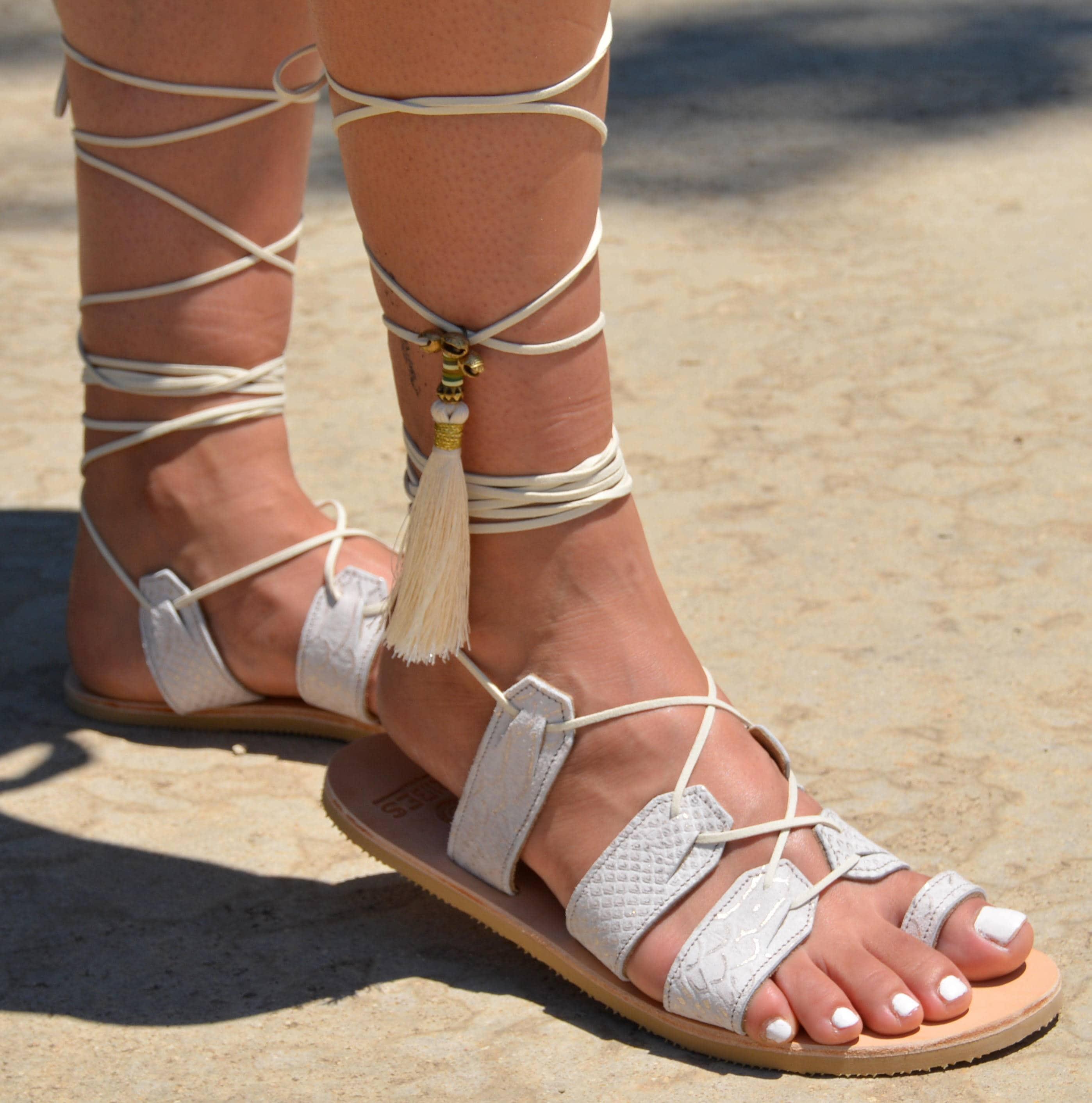 Bridal Shoes Boho: Wedding Sandals Wedding Shoes Boho Wedding Shoe Flat