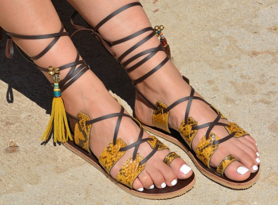 Sandals Chic Gladiator Sandals Gladiator Shoes Shoes Hippie Sandals Greek Boho Leather Women Sandals Boho Sandals Sandals Bohemian f8WqBxw4t