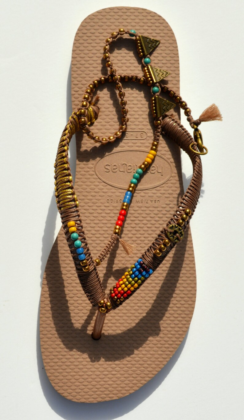 473ad2f3f6c3e6 Bohemian Sandals Foot Jewelry Women Flip Flops Women Shoes