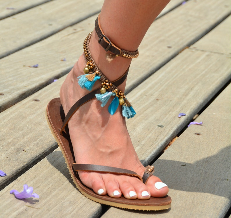 44f6bd8e6d Boho Sandals Sandals Women Leather Sandals Women Shoes