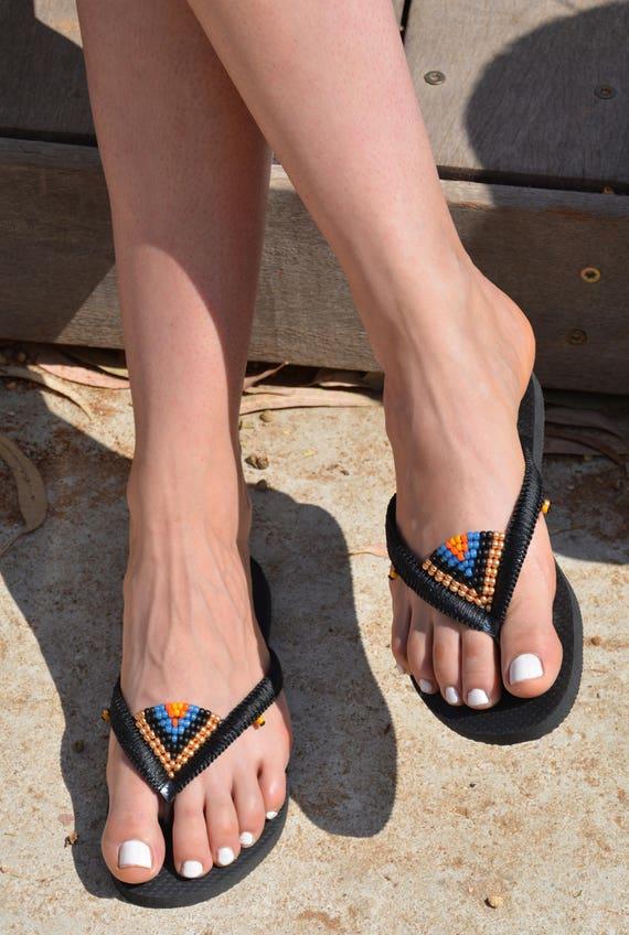 Boh sandales Flops Flip Hippie sandales n0qIx67wgH